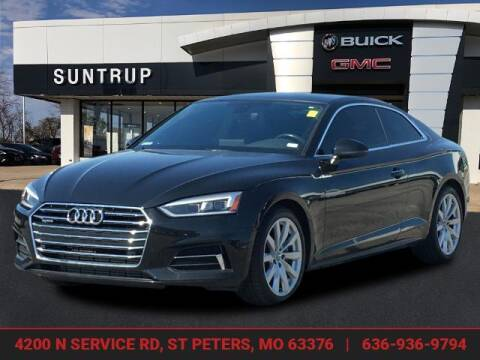 2018 Audi A5 for sale at SUNTRUP BUICK GMC in Saint Peters MO