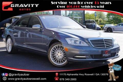 2010 Mercedes-Benz S-Class for sale at Gravity Autos Roswell in Roswell GA