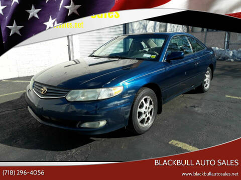 2002 Toyota Camry Solara for sale at Blackbull Auto Sales in Ozone Park NY