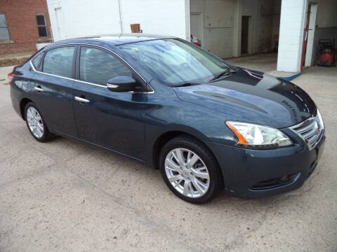 2013 Nissan Sentra for sale at Apex Auto Sales in Coldwater KS