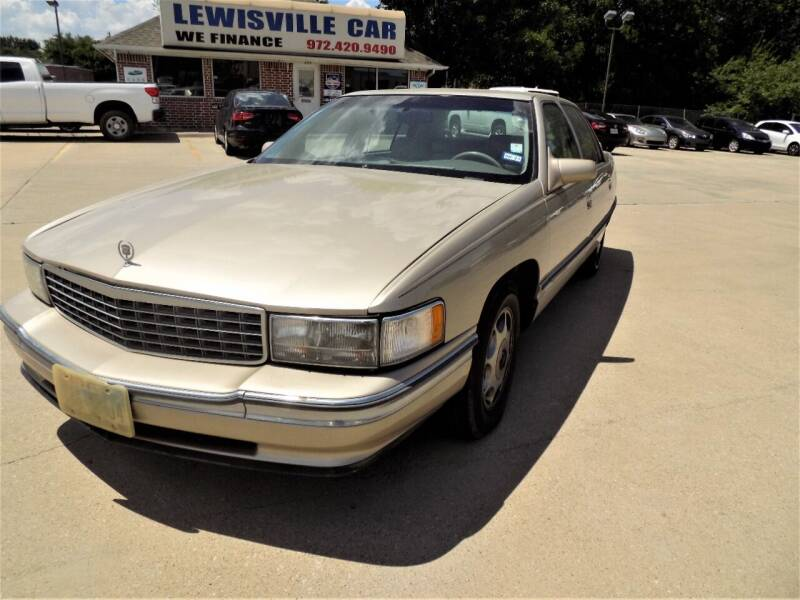 1995 Cadillac DeVille for sale at Lewisville Car in Lewisville TX