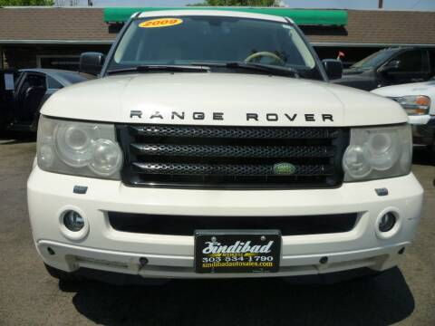 2009 Land Rover Range Rover Sport for sale at Sindibad Auto Sale, LLC in Englewood CO