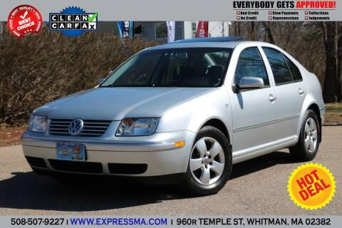 2004 Volkswagen Jetta for sale at Auto Sales Express in Whitman MA