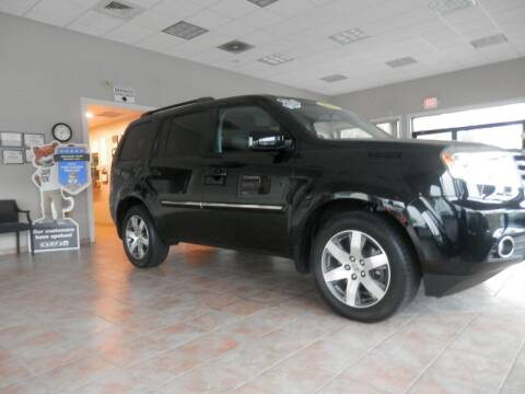 2014 Honda Pilot for sale at ABSOLUTE AUTO CENTER in Berlin CT