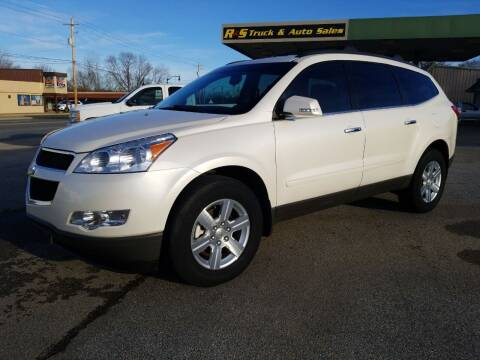 2012 Chevrolet Traverse for sale at R & S TRUCK & AUTO SALES in Vinita OK