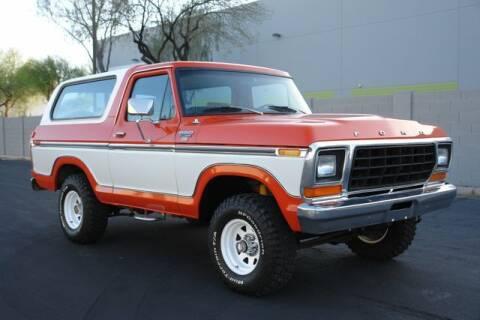 1979 Ford Bronco for sale at Arizona Classic Car Sales in Phoenix AZ