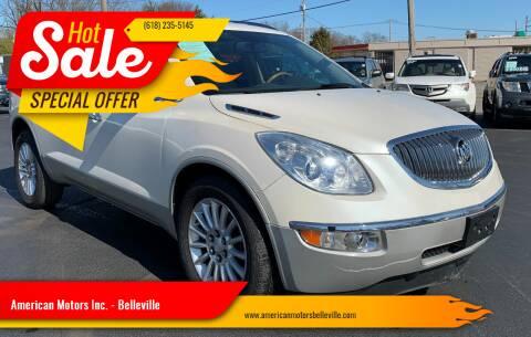 2012 Buick Enclave for sale at American Motors Inc. - Belleville in Belleville IL