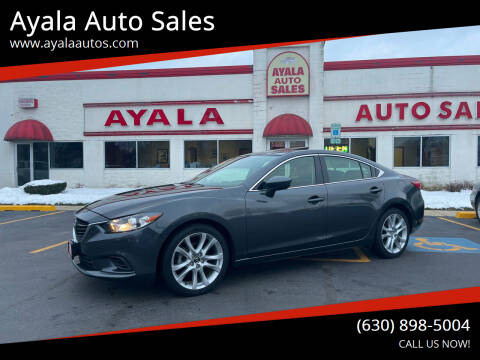 2016 Mazda MAZDA6 for sale at Ayala Auto Sales in Aurora IL