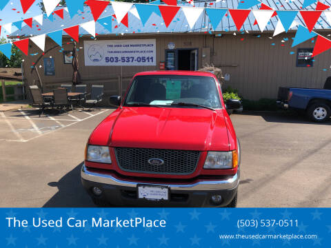 2002 Ford Ranger for sale at The Used Car MarketPlace in Newberg OR