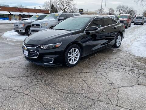 2016 Chevrolet Malibu for sale at AUTOSAVIN in Elmhurst IL