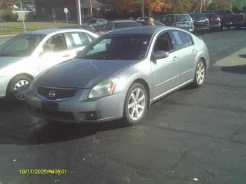 2007 Nissan Maxima for sale at Flag Motors in Columbus OH