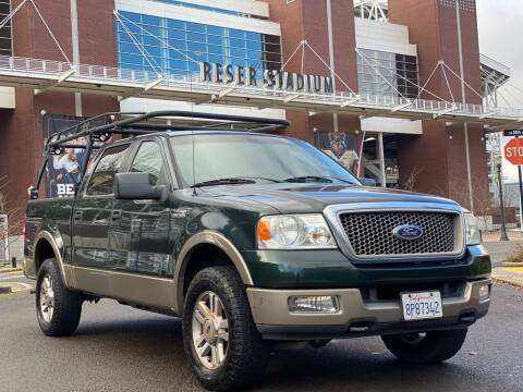 2005 Ford F-150 for sale at Rave Auto Sales in Corvallis OR