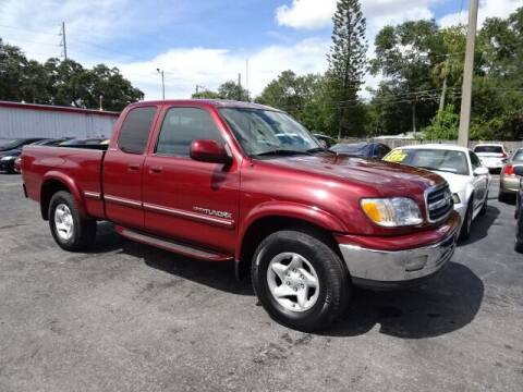 2000 Toyota Tundra for sale at DONNY MILLS AUTO SALES in Largo FL