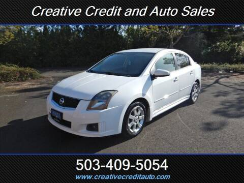 2009 Nissan Sentra for sale at Creative Credit & Auto Sales in Salem OR