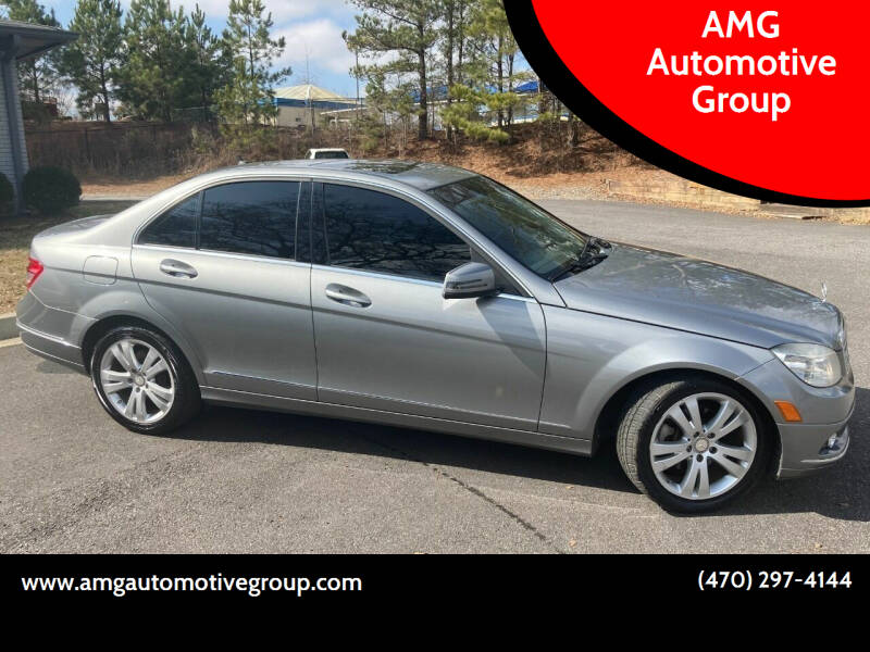 2010 Mercedes-Benz C-Class for sale at AMG Automotive Group in Cumming GA