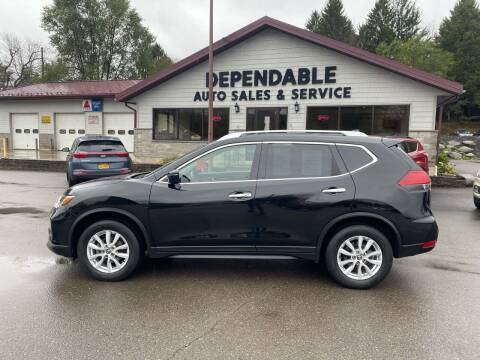 2017 Nissan Rogue for sale at Dependable Auto Sales and Service in Binghamton NY