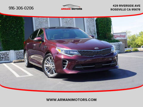 2016 Kia Optima for sale at Armani Motors in Roseville CA