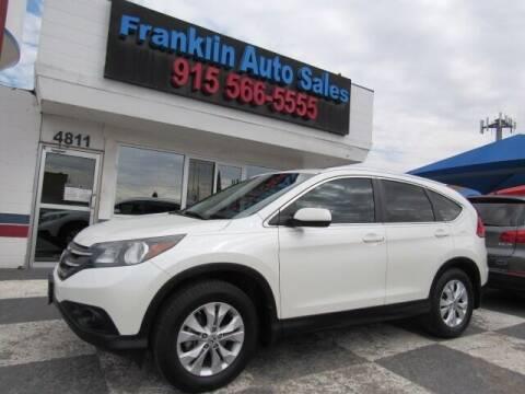 2012 Honda CR-V for sale at Franklin Auto Sales in El Paso TX