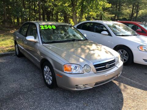 2004 Kia Optima for sale at Jims Auto Sales in Lakehurst NJ
