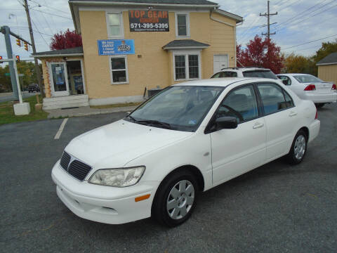 2002 Mitsubishi Lancer for sale at Top Gear Motors in Winchester VA