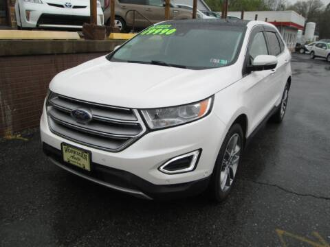 2016 Ford Edge for sale at WORKMAN AUTO INC in Pleasant Gap PA
