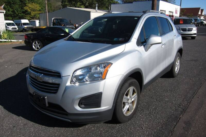 2015 Chevrolet Trax for sale at K & R Auto Sales,Inc in Quakertown PA