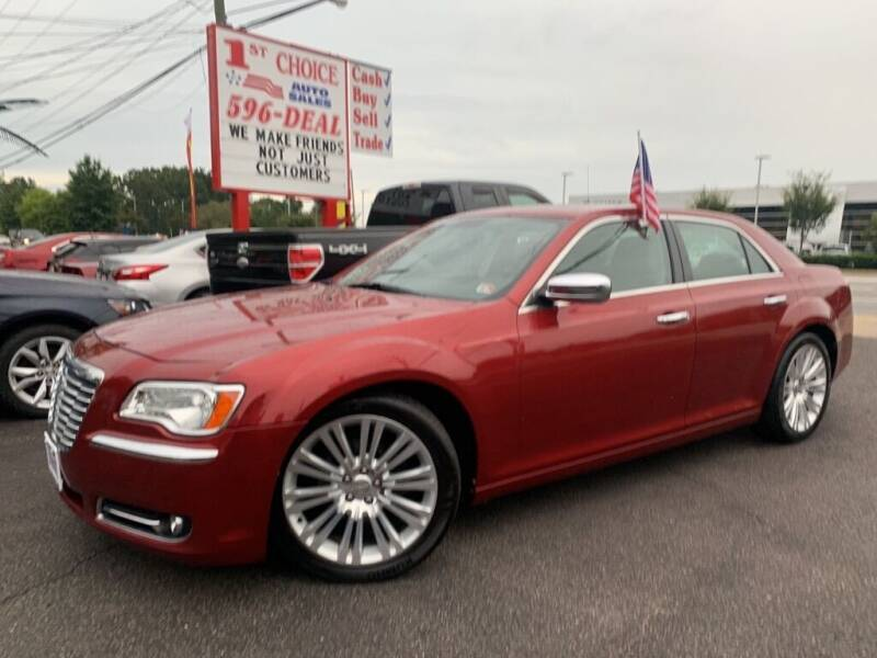 2012 Chrysler 300 for sale at 1st Choice Auto Sales in Newport News VA