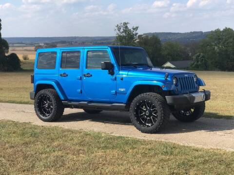 2015 Jeep Wrangler Unlimited for sale at Jackson Automotive LLC in Glasgow KY