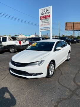 2015 Chrysler 200 for sale at US 24 Auto Group in Redford MI