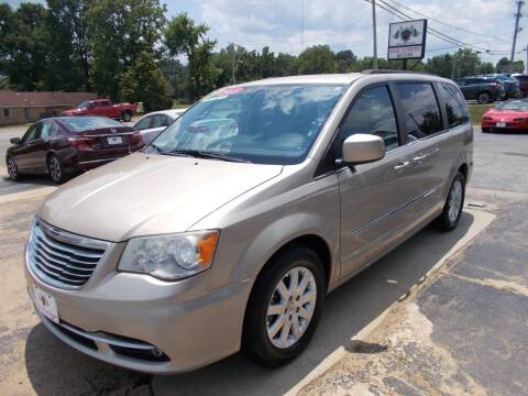 2013 Chrysler Town and Country for sale at High Country Motors in Mountain Home AR