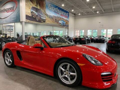 2013 Porsche Boxster for sale at Godspeed Motors in Charlotte NC