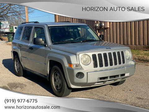 2008 Jeep Patriot for sale at Horizon Auto Sales in Raleigh NC