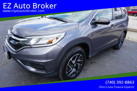 2016 Honda CR-V for sale at EZ Auto Broker in Mount Vernon OH