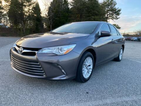 2016 Toyota Camry for sale at Triple A's Motors in Greensboro NC