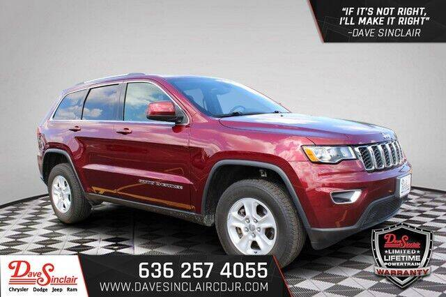 2017 Jeep Grand Cherokee for sale at Dave Sinclair Chrysler Dodge Jeep Ram in Pacific MO
