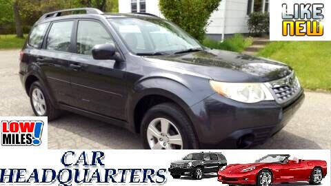 2012 Subaru Forester for sale at CAR  HEADQUARTERS in New Windsor NY