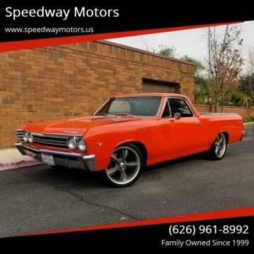 1967 Chevrolet El Camino for sale at Speedway Motors in Glendora CA