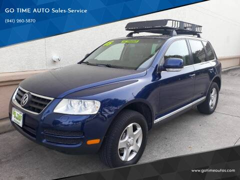2005 Volkswagen Touareg for sale at Go Time Automotive in Sarasota FL