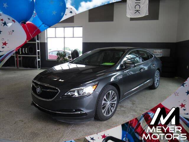 2017 Buick LaCrosse for sale at Meyer Motors in Plymouth WI