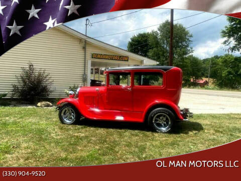 1928 Ford Model A for sale at Ol Man Motors LLC in Louisville OH