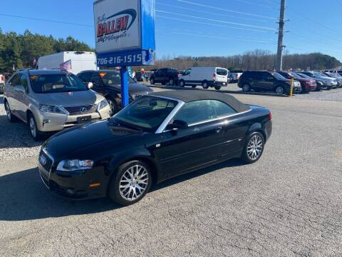 2009 Audi A4 for sale at Billy Ballew Motorsports in Dawsonville GA