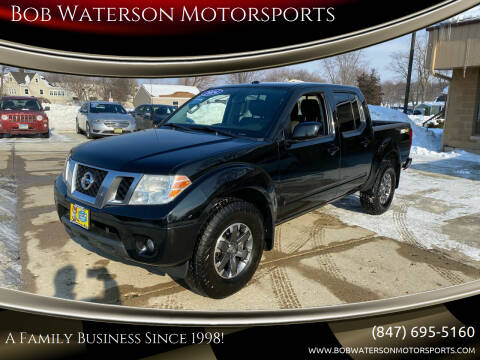 2014 Nissan Frontier for sale at Bob Waterson Motorsports in South Elgin IL