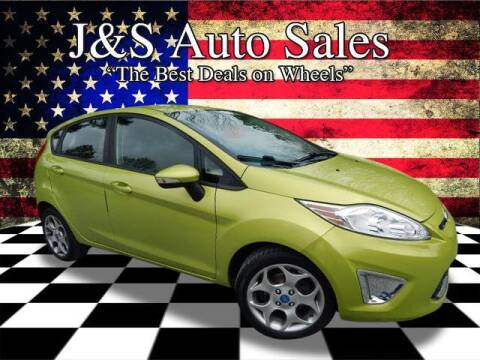 2012 Ford Fiesta for sale at J & S Auto Sales in Clarksville TN