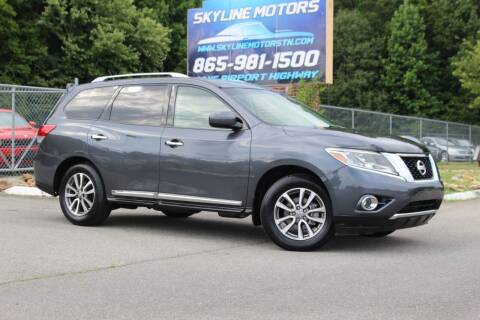 2013 Nissan Pathfinder for sale at Skyline Motors in Louisville TN