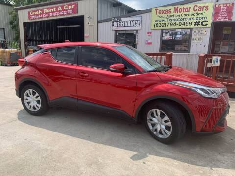 2020 Toyota C-HR for sale at TEXAS MOTOR CARS in Houston TX