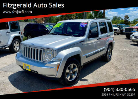 2008 Jeep Liberty for sale at Fitzgerald Auto Sales in Jacksonville FL