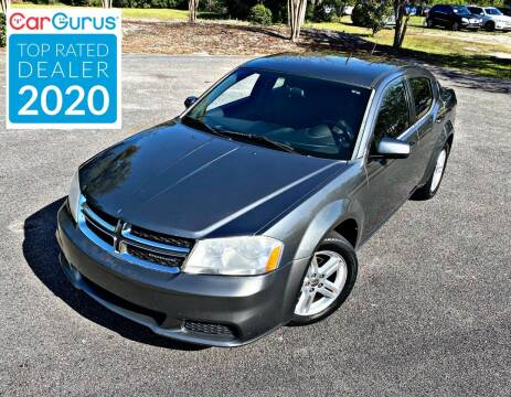 2012 Dodge Avenger for sale at Brothers Auto Sales of Conway in Conway SC