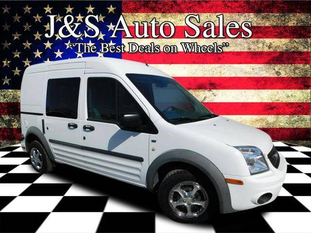 2013 Ford Transit Connect for sale at J & S Auto Sales in Clarksville TN
