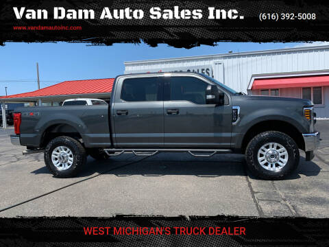 2018 Ford F-250 Super Duty for sale at Van Dam Auto Sales Inc. in Holland MI