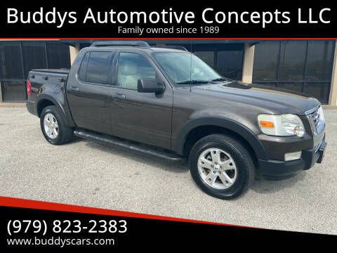 2007 Ford Explorer Sport Trac for sale at Buddys Automotive Concepts LLC in Bryan TX